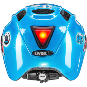 UVEX Finale Junior Helmet LED space rocket